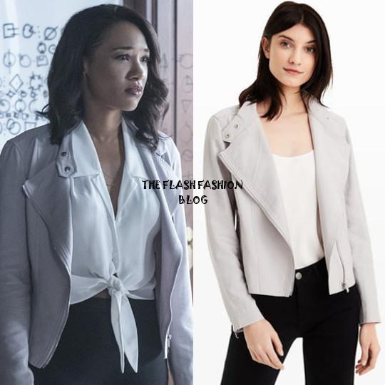 the flash 4x01 iris jacket