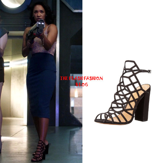 the flash 4x02 iris shoes