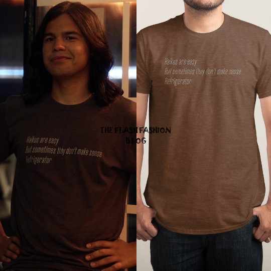 the flash 4x03 cisco shirt