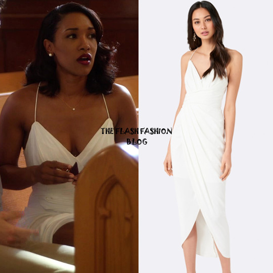 the flash 4x03 iris dress