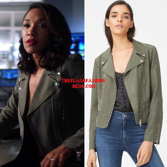 the flash 4x06 iris jacket