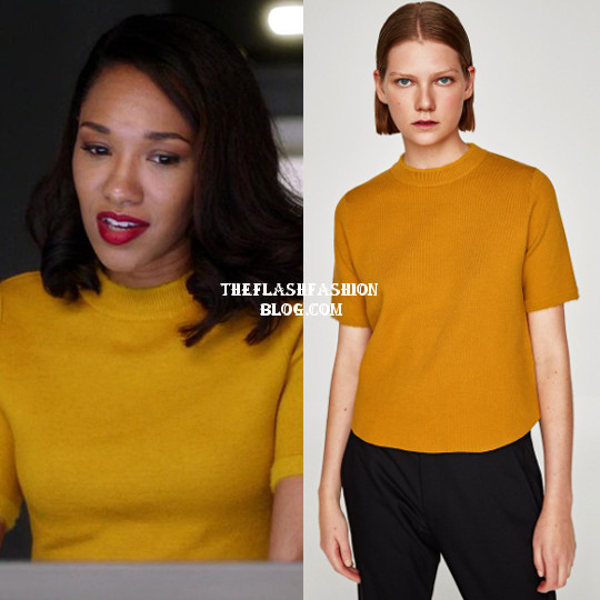 the flash 4x06 iris sweater
