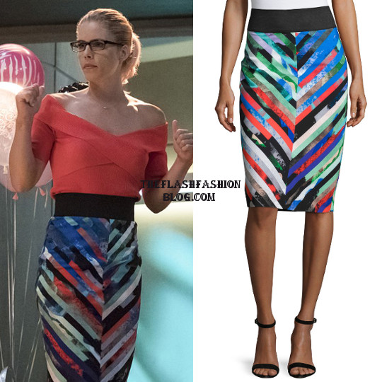 the flash 4x05 felicity skirt