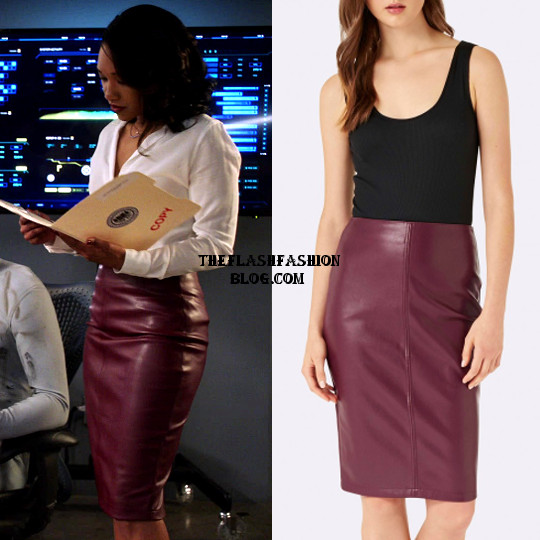 the flash 4x11 iris skirt(blog)
