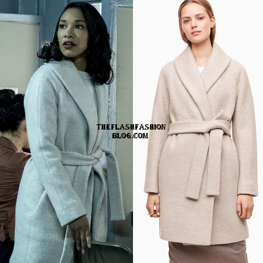 the flash 4x13 iris coat