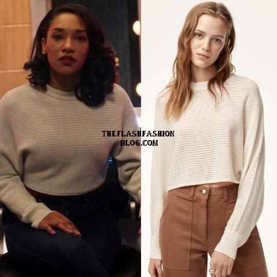 the flash 4x13 iris sweater(blo)g