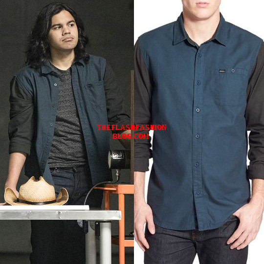 the flash 4x14 cisco shirt