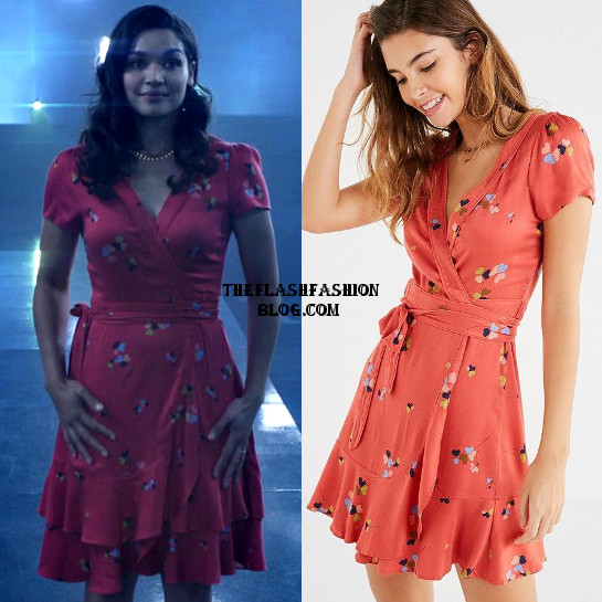 the flash 4x19 dress
