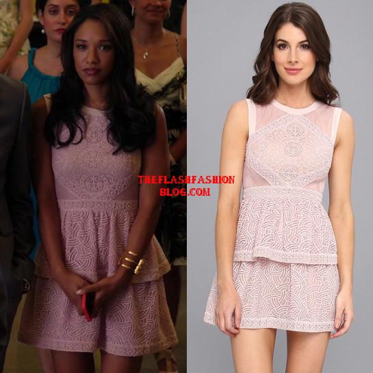 the flash 1x02 iris dress