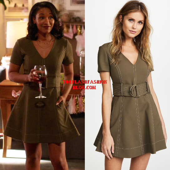 the flash 4x20 iris dress2