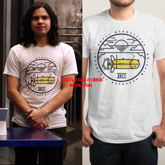 the flash 4x21 cisco t-shirt