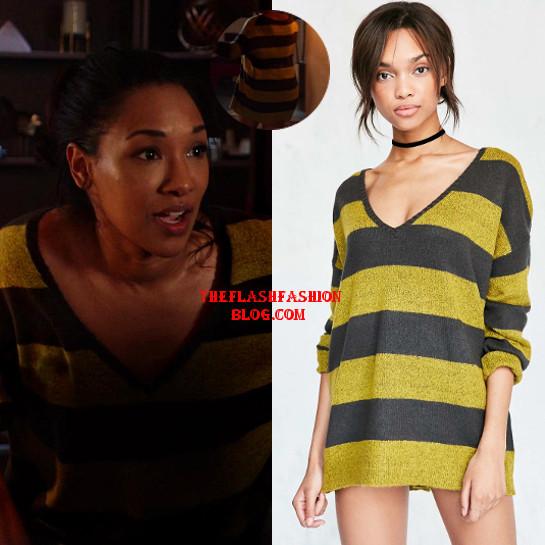 the flash 4x21 iris sweater
