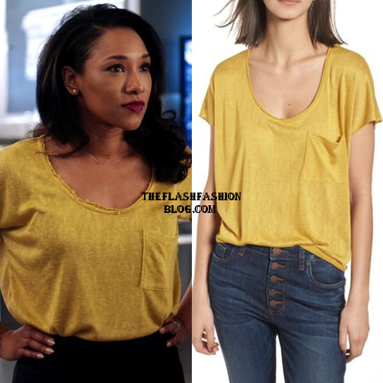 the flash 4x21 iris top
