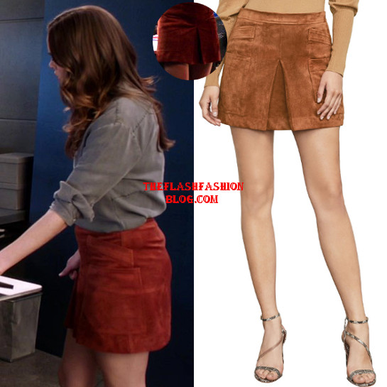 the flash 4x22 caitlin skirt