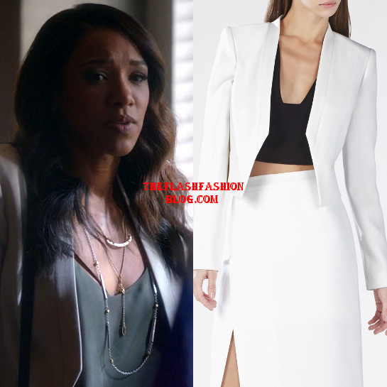 the flash 2x01 iris jacket