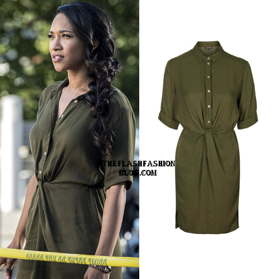 the flash 3x02 iris dress
