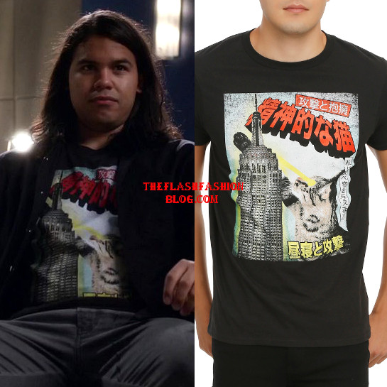 the flash 3x04 cisco shirt