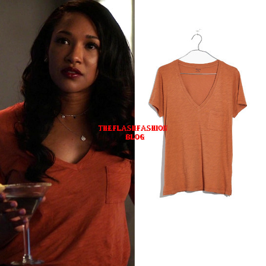 the flash 5x03 iris tee