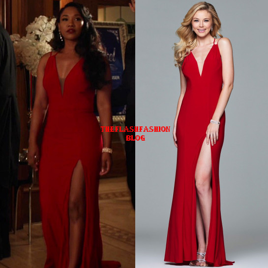 the flash 5x05 iris gown