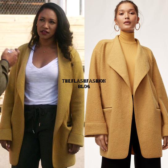 the flash 5x06 iris jacket