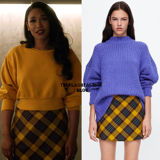 the flash 5x08 iris skirt