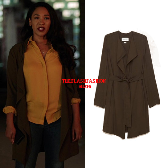 the flash 5x14 iris jacket