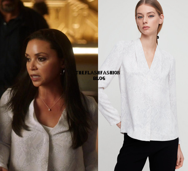 the flash 5x21 cecile blouse